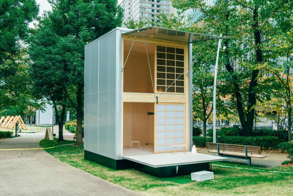 Muji Huts Affordable PopUp Modern Homes Made for Japan Urbanist