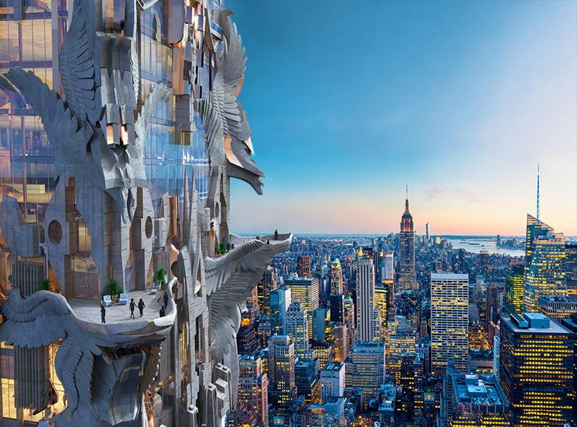 Sculptural Skyscraper Ornate Nyc Design Redefines Tower Decor