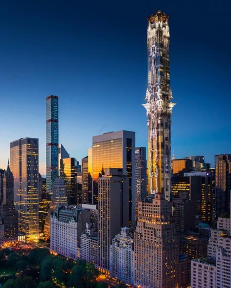 ornate midtown tower design