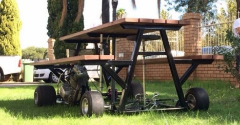 picnic table vehicle