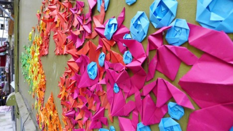 rainbow origami 2