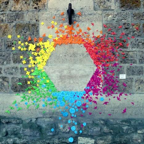 rainbow origami 3