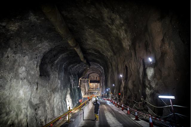 rock cavern expansion