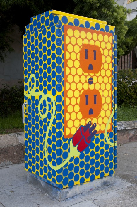 Art of power 12 visually shocking electric utility boxes urbanist utility box 2a publicscrutiny Images