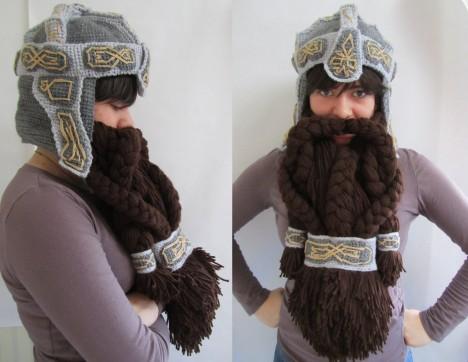 weird knits dwarven helm