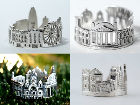 architecture finger jewelry