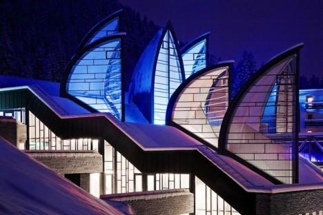 artistic architecture alpine hotel 4