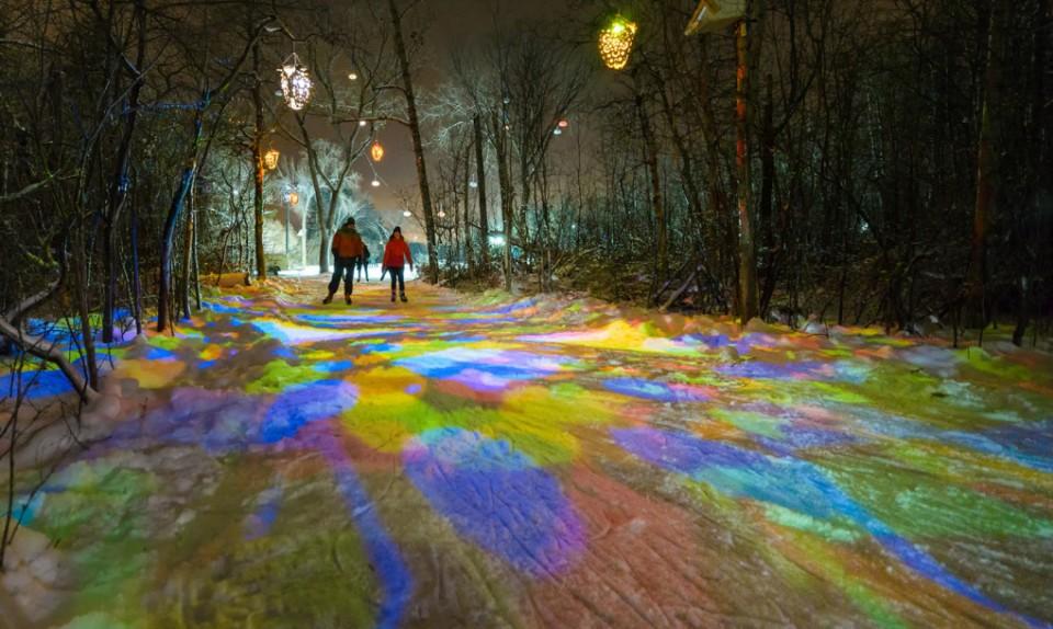 freezeway frozen pathway