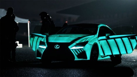 future cars lexus rcf