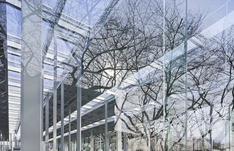 glass boxes japanese school 2