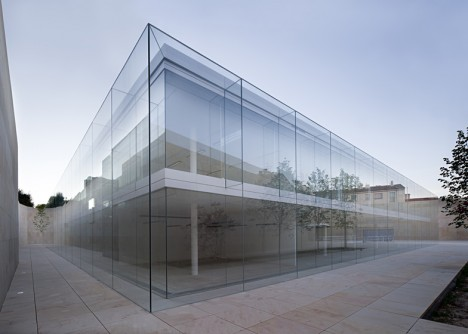 Architecture with nothing to hide 13 glass box buildings - Campo baeza obras ...