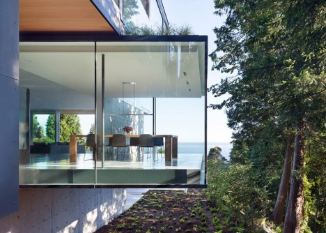 glass boxes russet