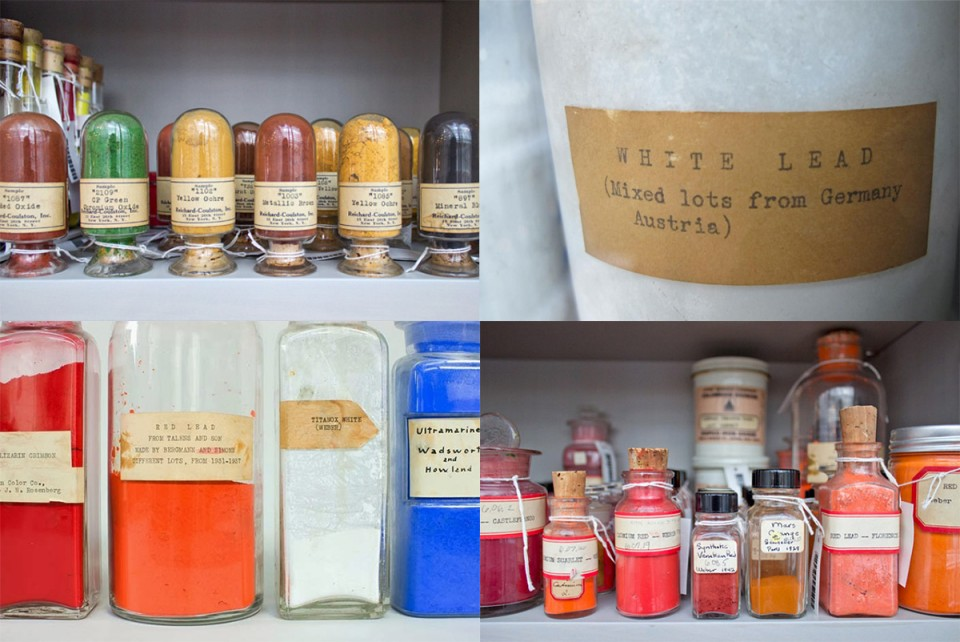 historical pigment collection