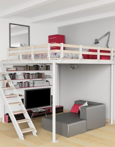 diy loft kits bridge the gap between furniture
