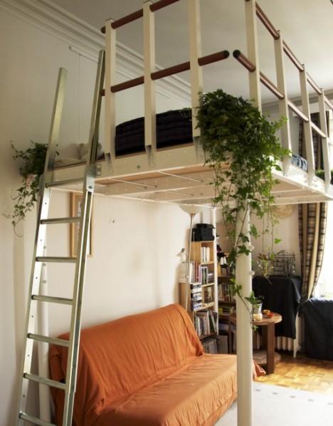 Diy loft kits bridge the gap between furniture for Loft additions