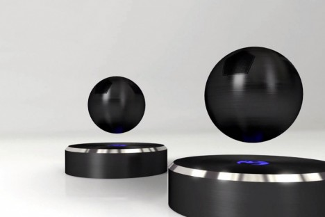 magnetic design levitating speaker 2