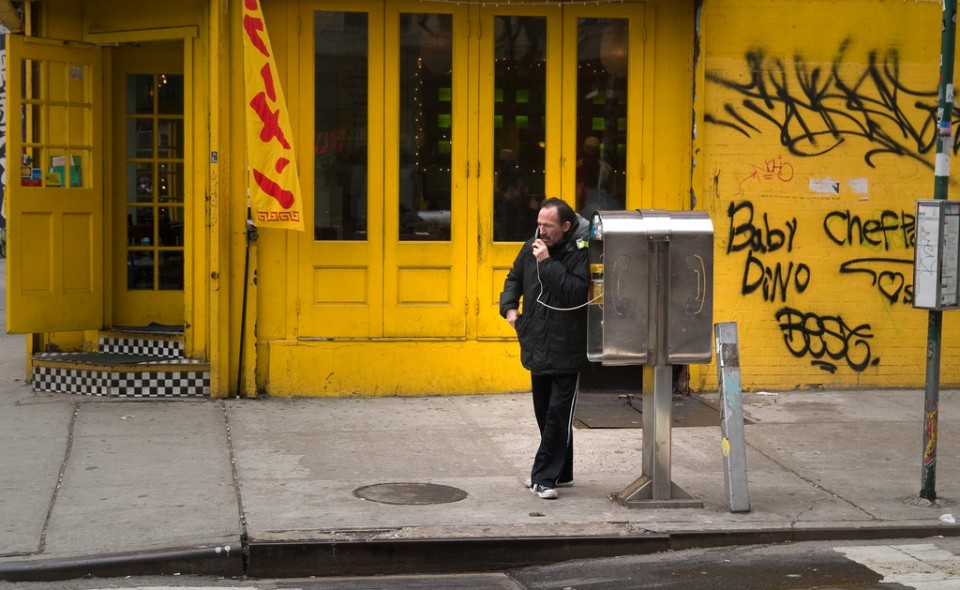 pay phones NYC