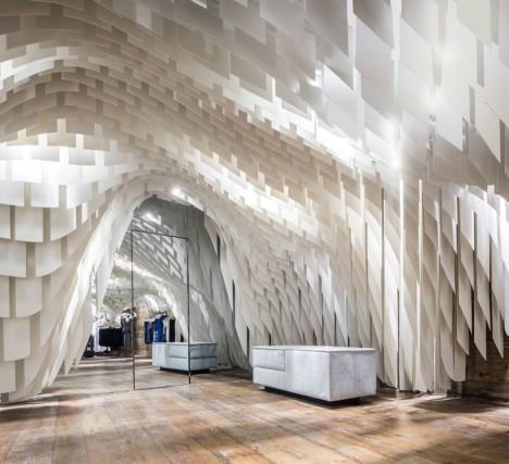 retail fiberglass cave