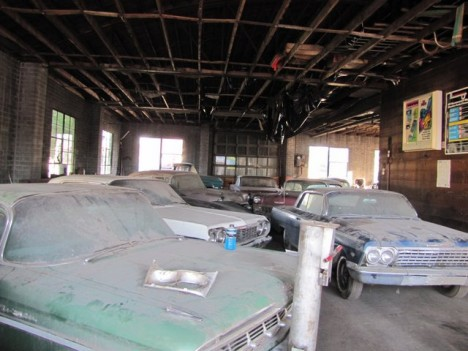 time capsule car warehouse