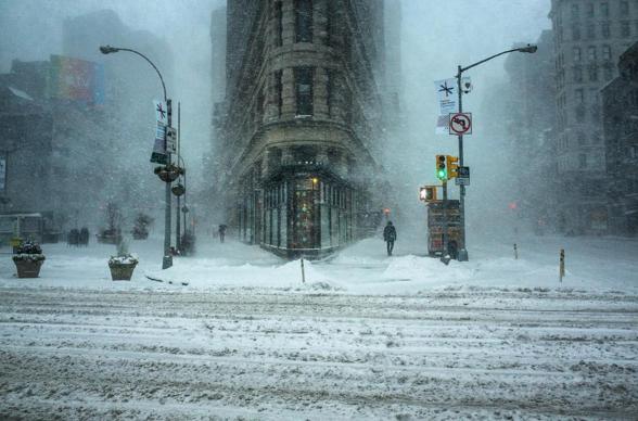 winter storm photo nyc