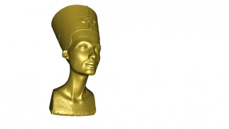 3d rendered egyptian artifact
