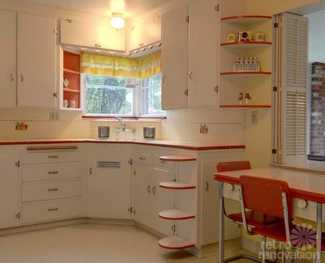 40s seattle house kitchen