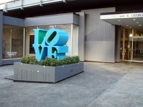 Vancouver LOVE sculpture