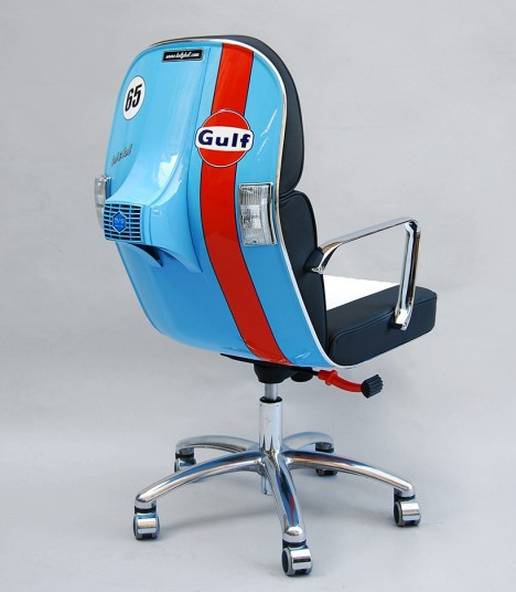 Vespa inspired chair 1