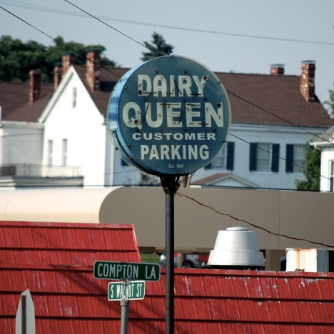 dairy queen customer parking