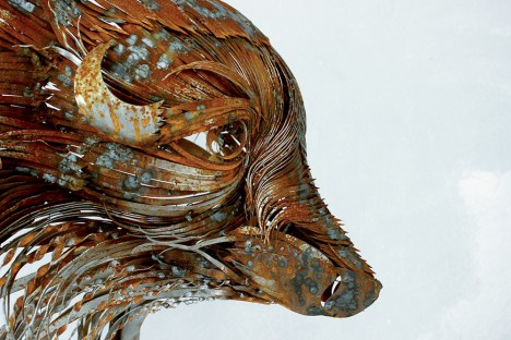 animal art hammered 6