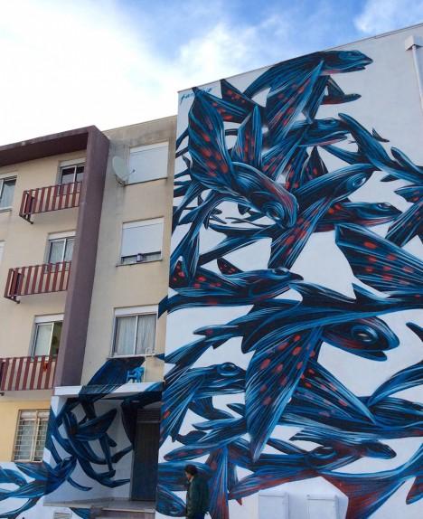 animal art urban swarms 3