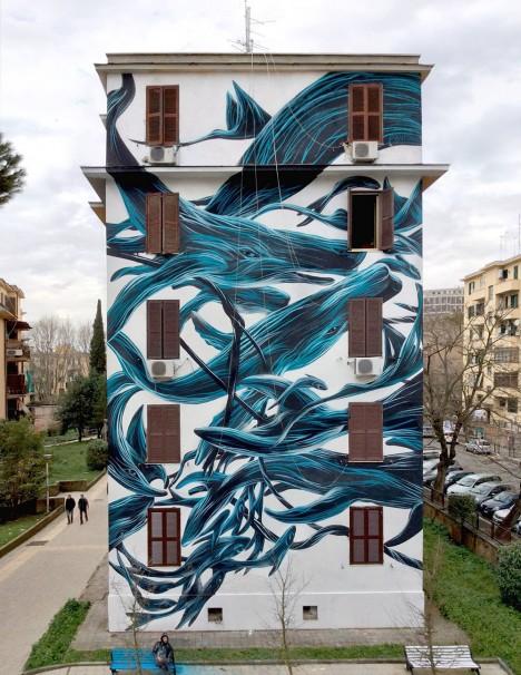 animal art urban swarms 5