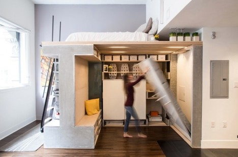 Smart Move Domino Loft Maximizes Space In Micro