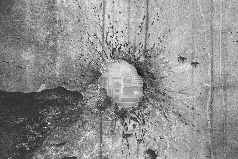 Using Bullet Holes In Beirut S Brutalist Egg As Camera