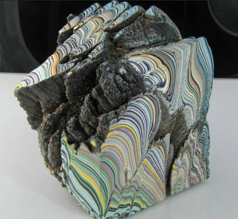 fordite encursted form