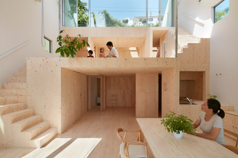 Modern japanese architecture sunny minimalism by tomohiro for Japanese minimalist interior design