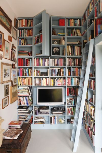 hidden room high up bookcase