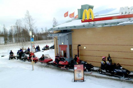 mcdonalds ski-through