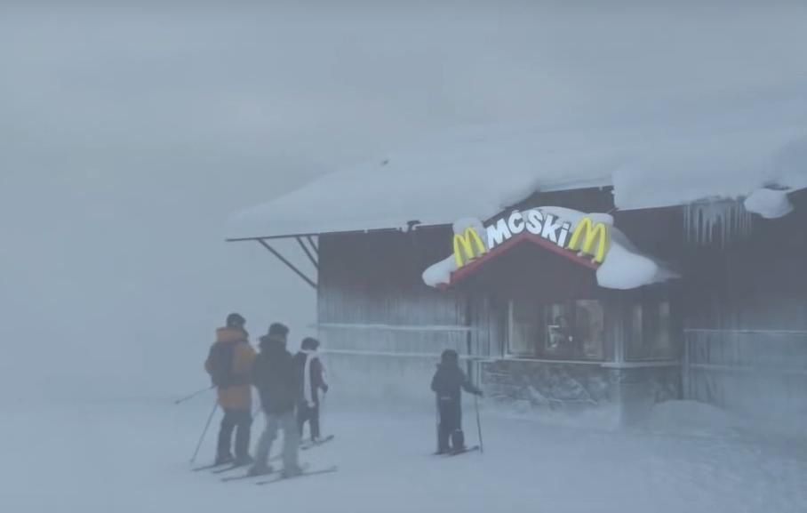 mcdonalds ski