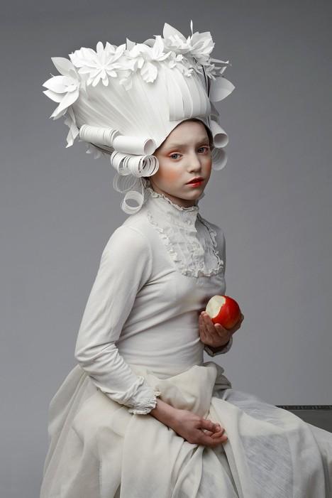 paper art wigs 1