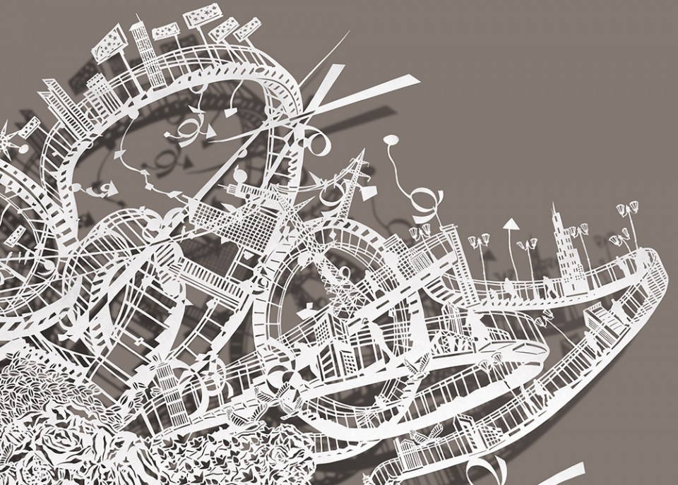popping off the page 15 sculptural 3d paper art creations urbanist