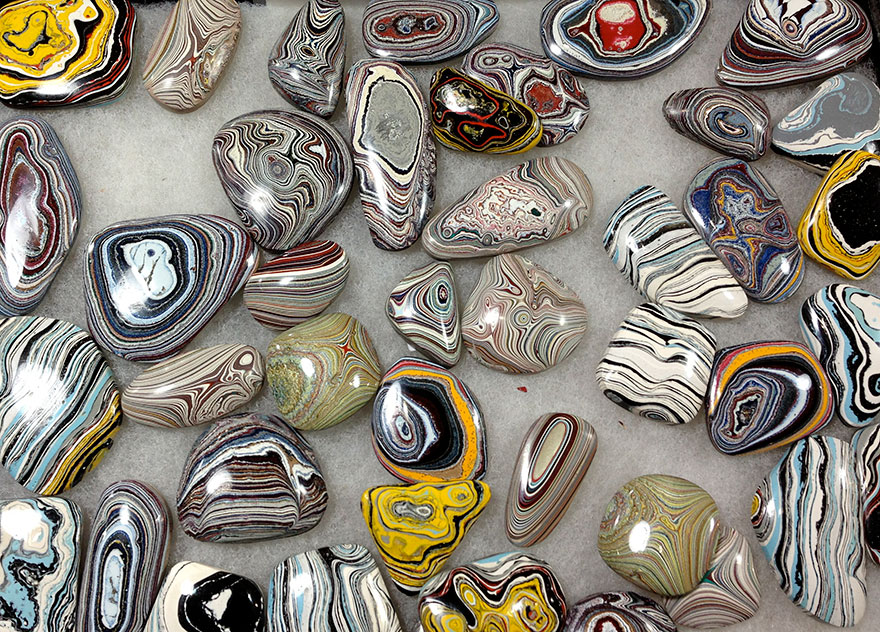 shaped fordite