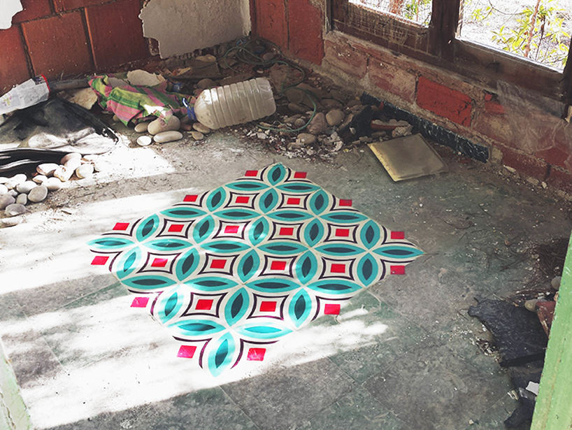 tile artwork abandonment