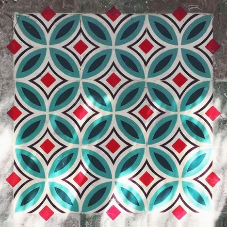 tile finished piece