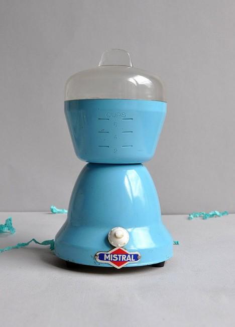 vespa inspired coffee grinder