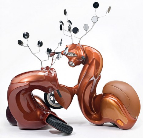 vespa inspired sculpture 2