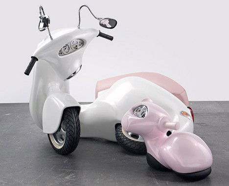 vespa inspired sculpture 3