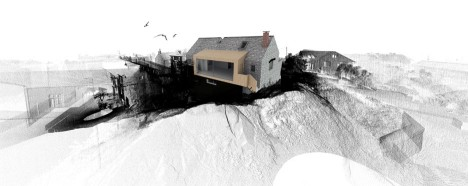3d architectural addition