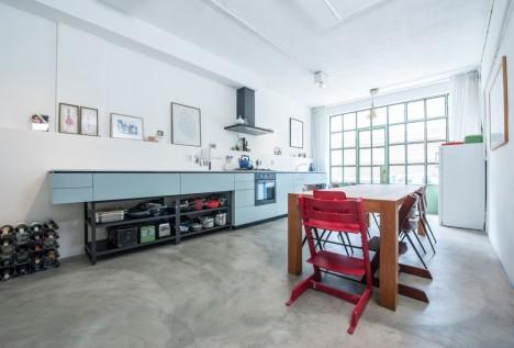 apartment remodel industrial garage