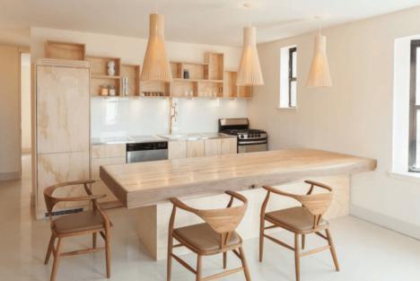 apartment remodel wood 1